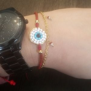 Jewelry - 🎉2 for $14🎉Evil Eye Bracelet